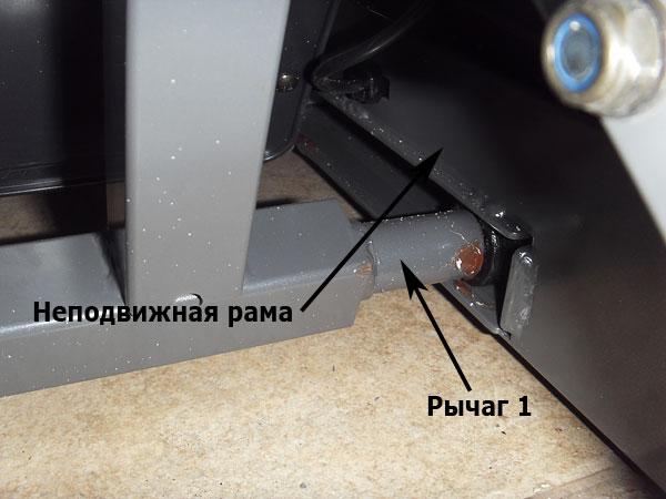 Система подъема и складывания беговой дорожки Proxima Persona